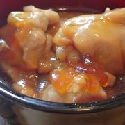 鶏もも肉の甘辛煮☆レンジで4分!