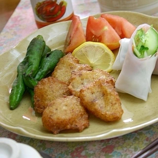 ちるちるちゃんの 塩麹のお豆腐入りナゲット