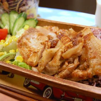 バルサミコプラスの簡単豚の生姜焼き