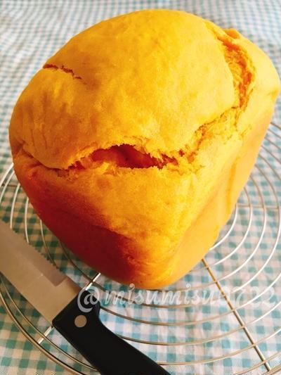 ホエイを使って☆しっとり南瓜たっぷり食パン