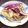 山芋と紫玉ねぎ合え