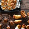 冷凍パイシートでおうちおやつ ウィンナーミートパイ&一口パイ