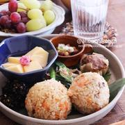 【レシピ】小松菜とオクラのねっとり中華炒め♡#朝ごはん #オクラ #小松菜 #カニカマ #野菜炒め