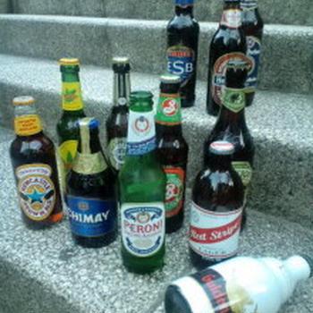 ビールの調達。