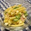 「早ゆでパスタ」でゆで卵入りマカロニサラダ by まみさん