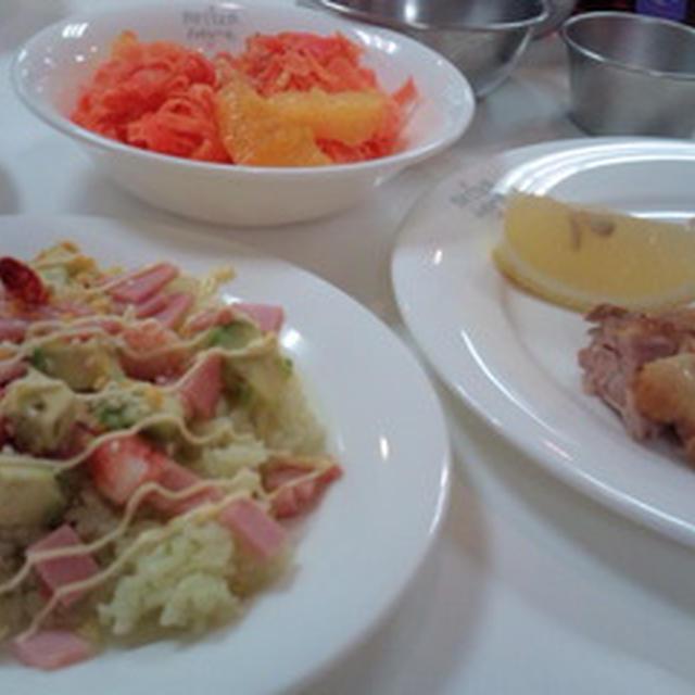 サンキストのオレンジ&レモンを使った料理教室 <レシピ1>