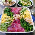 雛祭りに♪花畑みたいなちらし寿司 by quericoさん