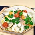 赤魚と蛤のアクアパッツァ