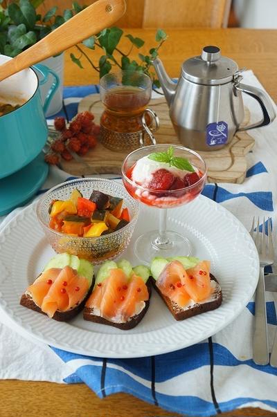 野菜が堪能できるラタトゥイユのワンプレート