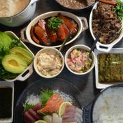 ストウブで「手巻き寿司」