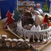 大人チックなチョコムースケーキ♪