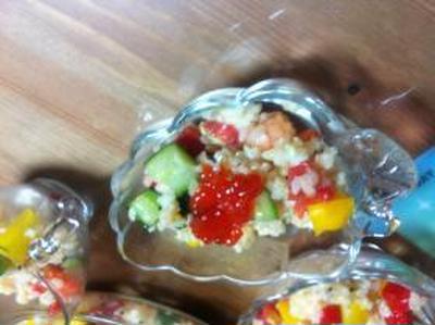 和食でも洋食でもない美容食のパプリカ散らし寿司