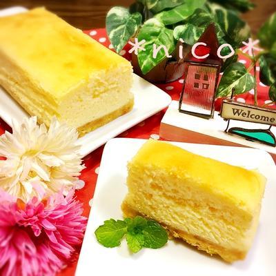 *やっぱり美味しい♡基本のスフレチーズケーキ*