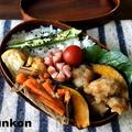 【おべんとう】レンジ&トースターでやわらか唐揚げ弁当
