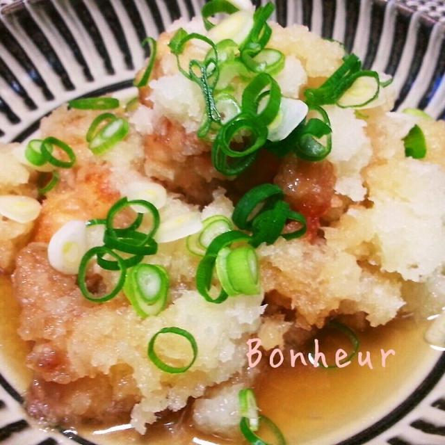 鶏肉のさっぱりおろしに煮☆イチオシレシピに選ばれました。