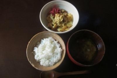 9月21日 親子丼の夕飯
