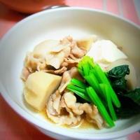 里芋と豚肉のすき煮