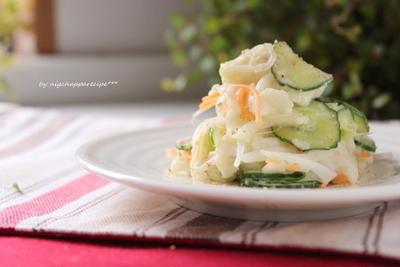 ルクエでご飯☆長いものポテトサラダ