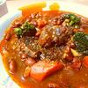 牛すね肉と茶大豆のトマトシチュー