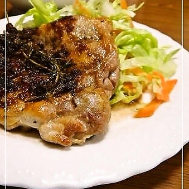 チキンのハーブソテー*バルサミコソース