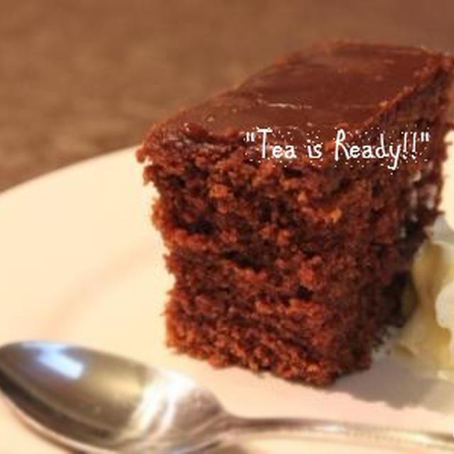 * FAMILY CHOCOLATE CAKE * ファミリーチョコレートケーキ
