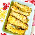 オーブントースターで焼く♪秋鮭のパン粉焼き♡