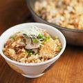 秋刀魚の炊き込みご飯、美味しいおこげを作れるフライパンレシピ、作り方動画