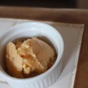 りんごジャムのアイスクリーム