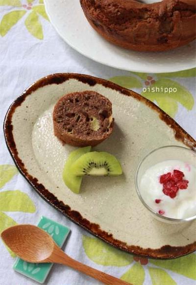 バナナココアケーキ