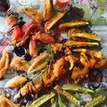 余り野菜とキスのフリッター 決め手は香りソルトガーリック&オニオン - スパイス大使 -