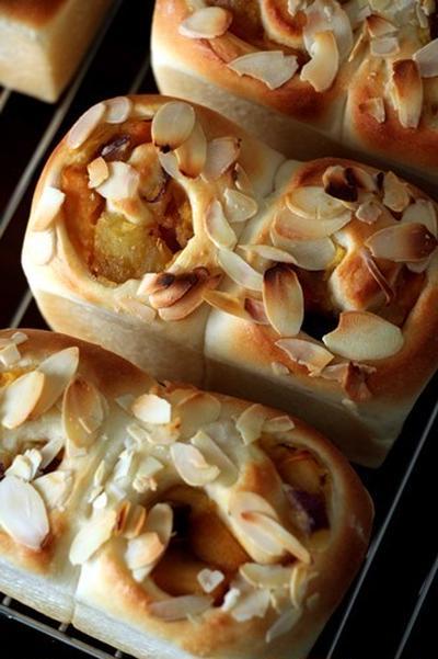 【レシピ】「さつまいもとカラメルりんごのミニ食パン」後編