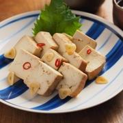 豆腐の麺つゆ漬け 、 ちょっとしたおつまみにお勧め!