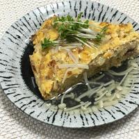 【ヤマキだし部】白菜の卵焼き えのきあんかけ