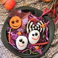 ハロウィン★かわいい楽しいたまごおばけのサラダ
