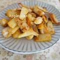 【モニター】鶏胸肉と長いもとエリンギのオイマヨカレー炒め