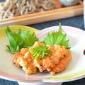 豆腐と長芋の蒲焼き風と十割そばを堪能♪ by はるさん