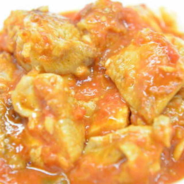 鶏モモ肉のトマトソース和え