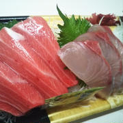 魚日と茶緑日の2晩ご飯