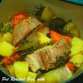 冬ウマ☆豚バラと野菜の蒸し煮