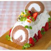 クリスマスにオススメのケーキとかデコレーションケーキの組み立て方とか★