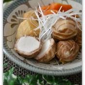 里芋の肉巻き煮五香粉風味