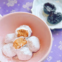 プルーンピューレのブールドネージュ***白い氷の玉クッキー?!***