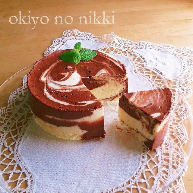 お豆腐ショコラマーブル/プリンのデコについて。