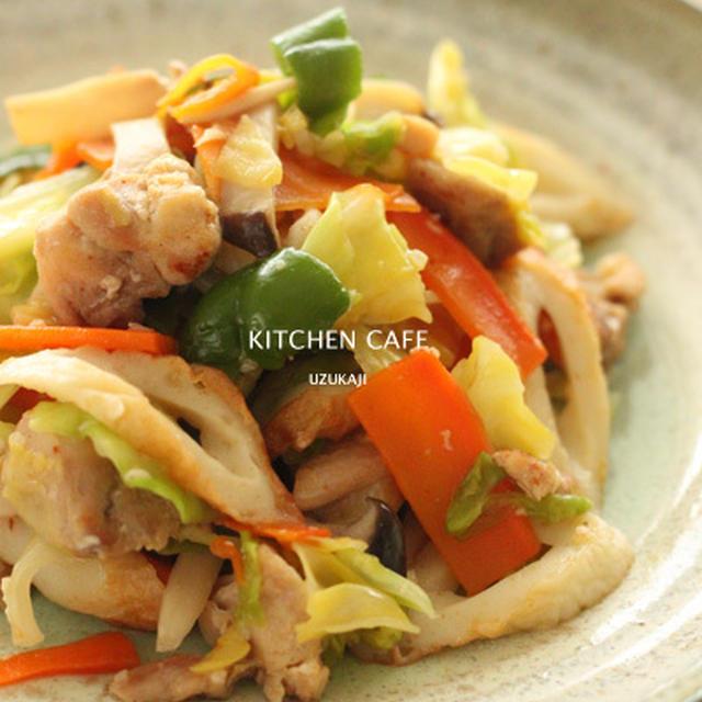 塩麹 野菜炒め