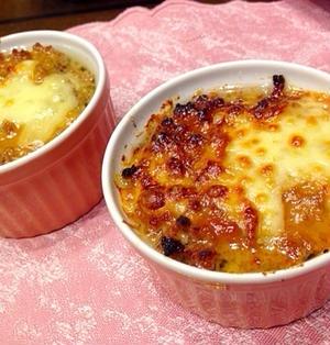豆腐の肉みそグラタン : Meat miso gratin of tofu