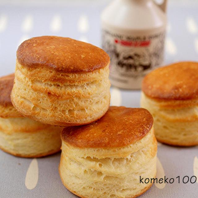 米粉と豆乳で優しい味「ケンタ風イーストビスケット」
