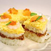 <ひな祭り>ギュギュ♪と詰めるだけ‼︎ ツナそぼろde簡単♡ケーキ寿司