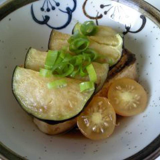 レシピ丸ナスの揚げ出し豆腐