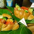 おそとで楽しむ♪プレジデントチーズレシピ・塩バターパンサンド♪ by watakoさん