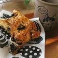 ザクザク*オレオと胡桃のスコーン/娘の作った生チョコケーキ